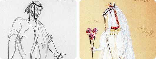 две картины Кочергина